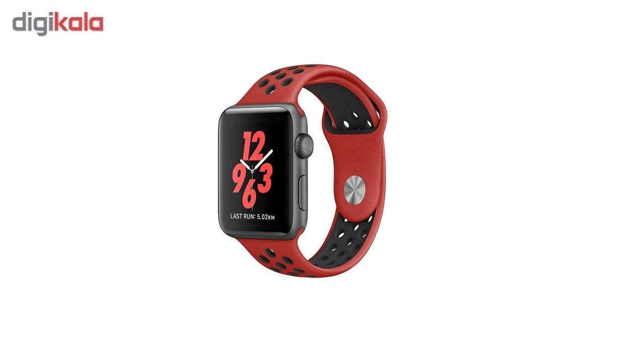 بند سیلیکونی طرح Nike مناسب برای اپل واچ 38 میلی متری main 1 5