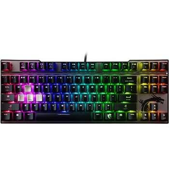 کیبورد مخصوص بازی مکانیکی ام اس آی مدل Vigor GK70 SILVER | MSI Vigor GK70 SILVER Mechanical Gaming Keyboard