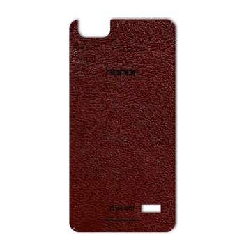 برچسب پوششی ماهوت مدلNatural Leather مناسب برای گوشی  Huawei Honor 4c
