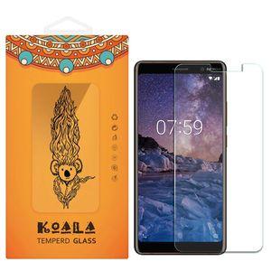 محافظ صفحه نمایش شیشه ای کوالا مدل Tempered مناسب برای گوشی موبایل نوکیا 7 پلاس