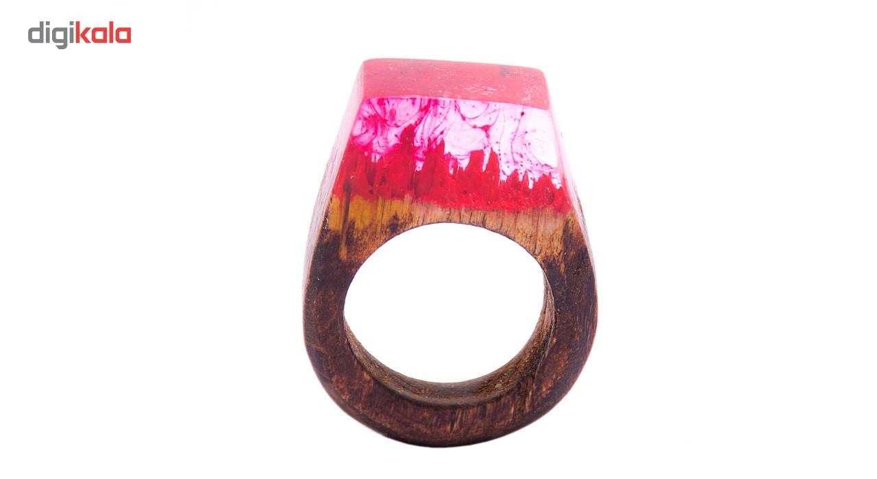 انگشتر باربد طرح چوبی کد GH2