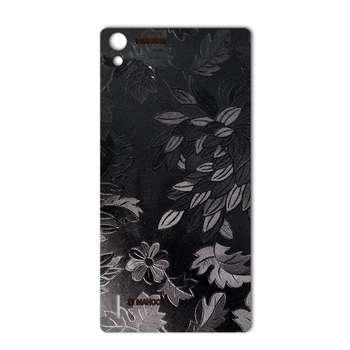 برچسب پوششی ماهوت مدل Wild-flower Texture مناسب برای گوشی  Huawei Ascend P7