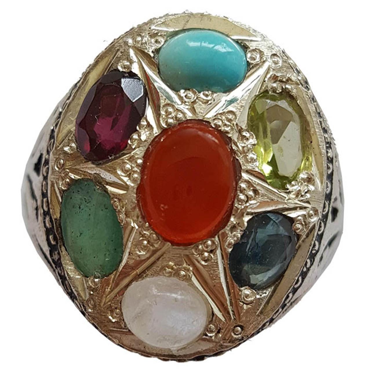 انگشتر نقره جواهرسرا مدل a008jw