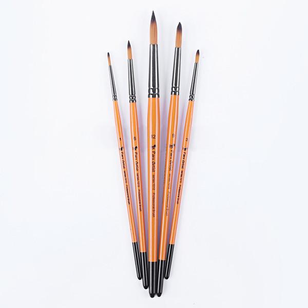 قلم مو پارس آرتیست کد 1010 گرد بسته 5 عددی