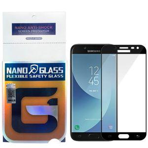 محافظ صفحه نمایش نانو گلس مدل 5D مناسب برای گوشی موبایل سامسونگ Galaxy J5 Pro