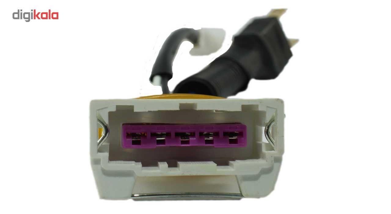 سوکت تبدیل چراغ پراید 132 پرفکت کد D83 main 1 2