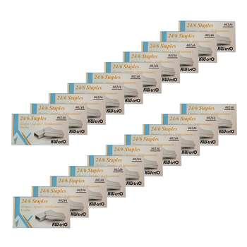 سوزن منگنه کی دبلیو تریو سایز 24/6 - 20 بسته 1000عددی
