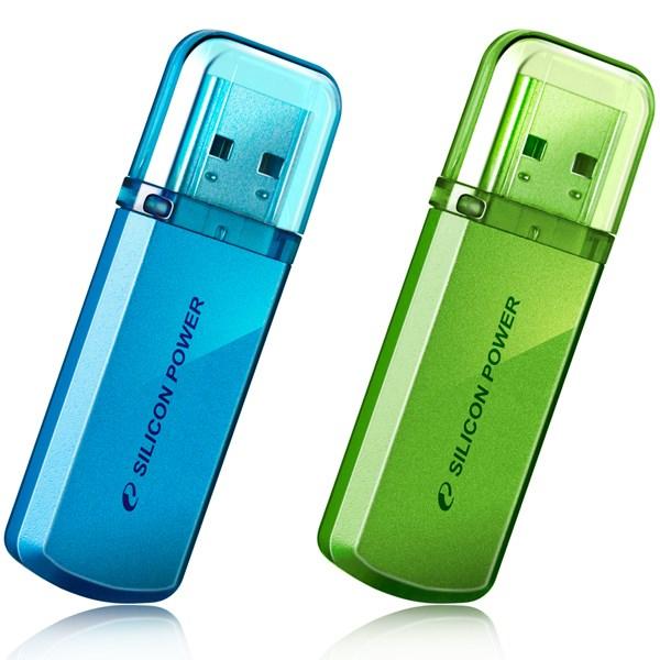 فلش مموری USB 2.0 سیلیکون پاور مدل هلیوس 101 ظرفیت 8 گیگابایت