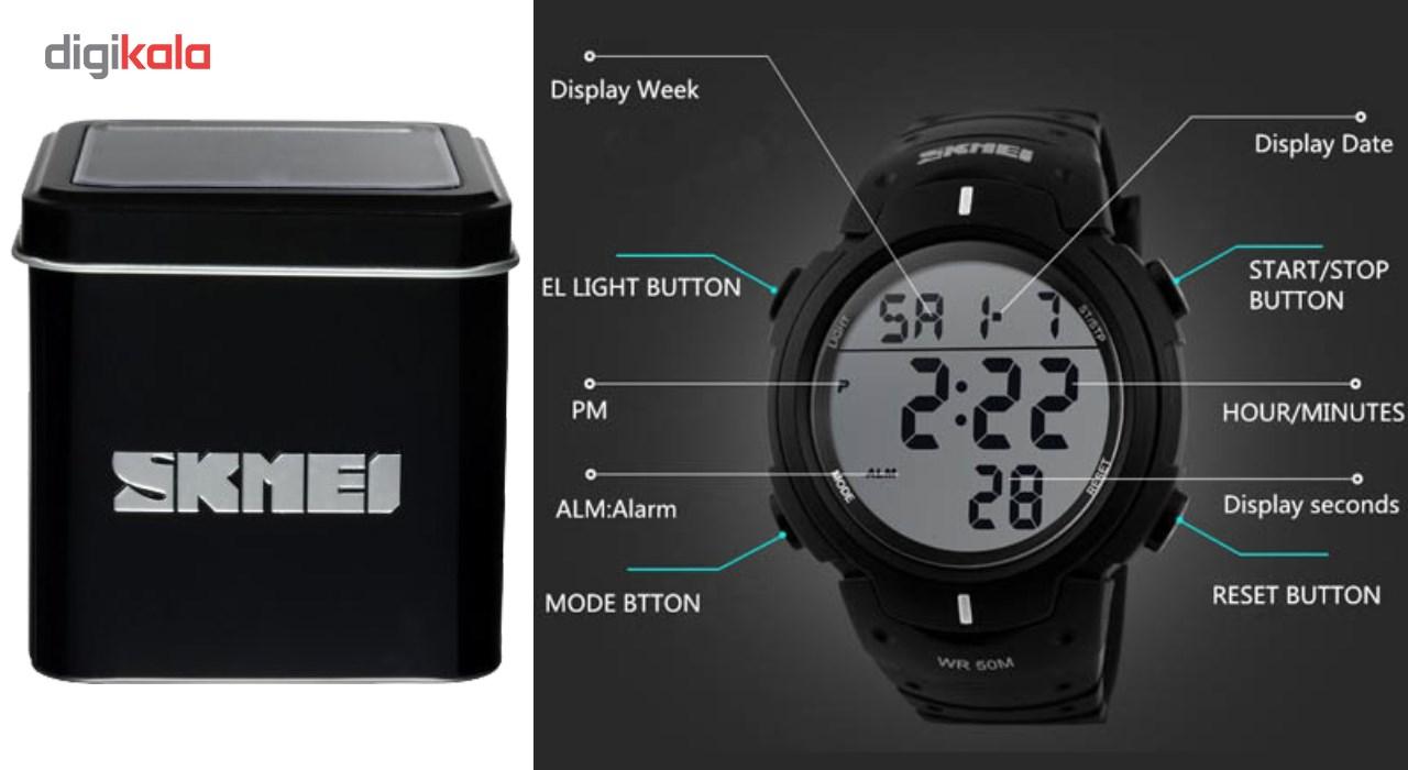 ساعت مچی دیجیتال اسکمی مدل 1068             قیمت