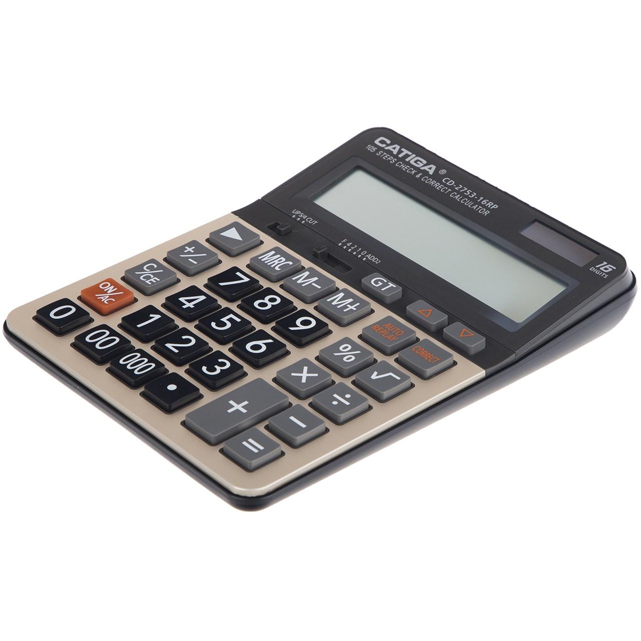 قیمت                      ماشین حساب کاتیگا مدل Catiga CD-2753-16RP