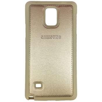 کاور ژله ای طرح چرم مدل مناسب برای گوشی موبایل سامسونگ Galaxy Note 4