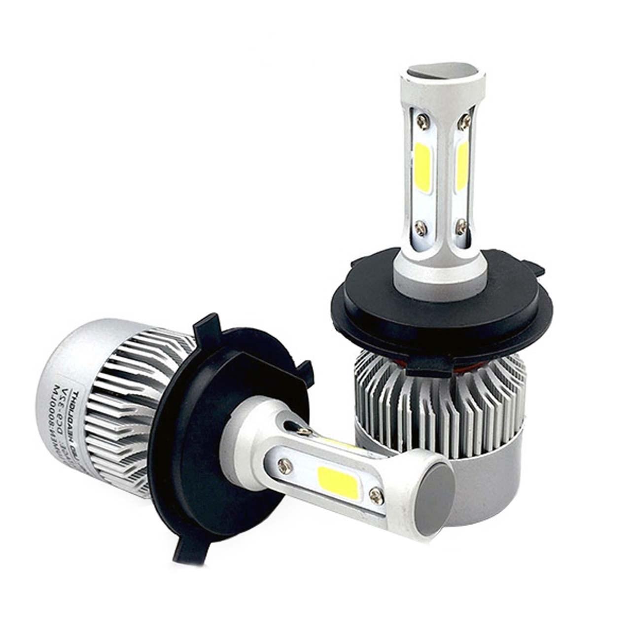 لامپ خودرو T2 مدل H4 بسته 2 عددی