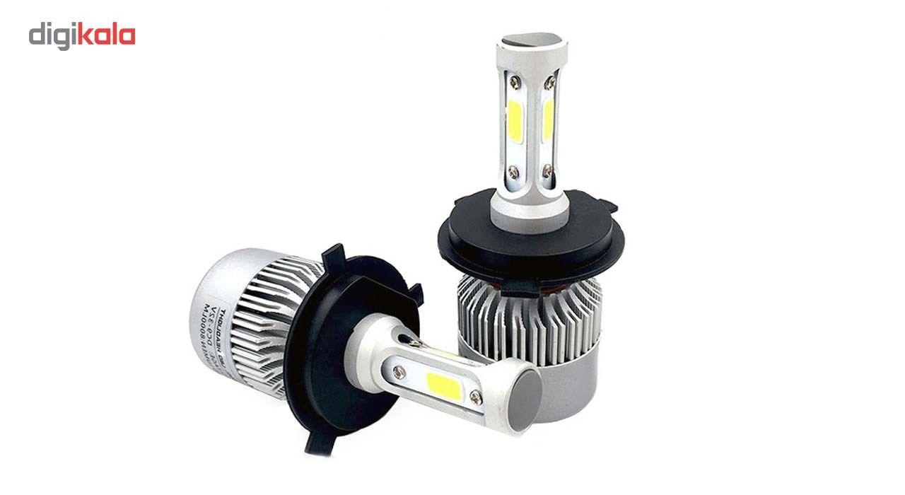 لامپ خودرو T2 مدل H4 بسته 2 عددی main 1 1