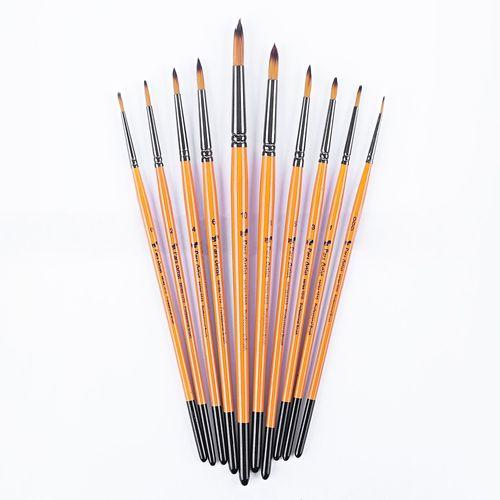 قلم مو پارس آرتیست کد 1010 گرد بسته 10 عددی