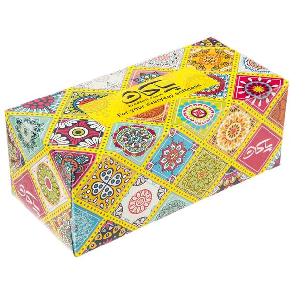 دستمال کاغذی 100 برگ پاکان مدل Javidan