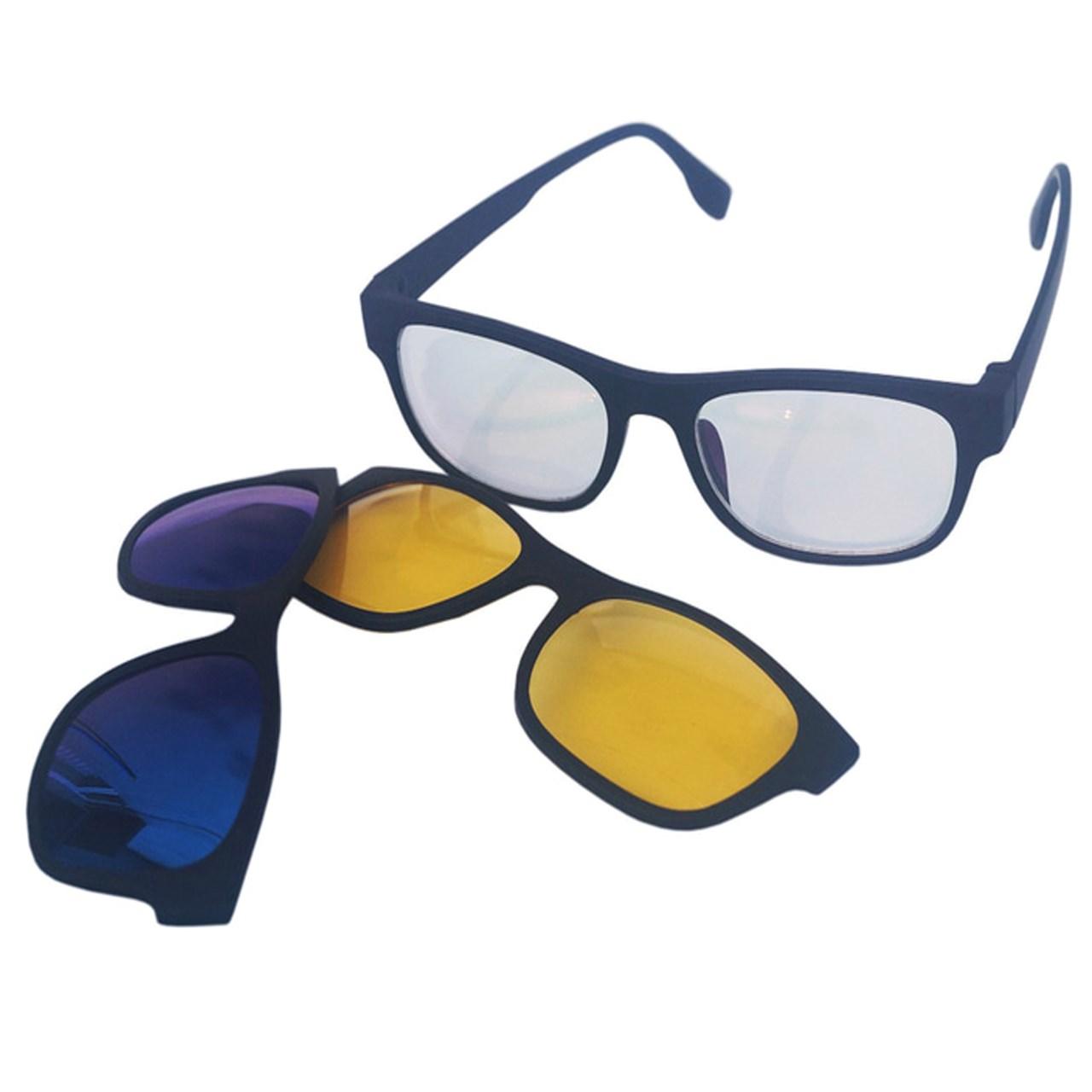 عکس عینک مجیک ویژن کد 186 به همراه 2 فریم اضافی
