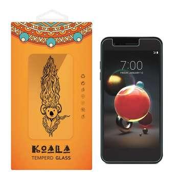 محافظ صفحه نمایش شیشه ای کوالا مدل Tempered مناسب برای گوشی موبایل ال جی K8 2018