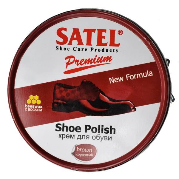 واکس کفش ساتل مدل Shoe Polish به همراه یک عدد پاشنه کش