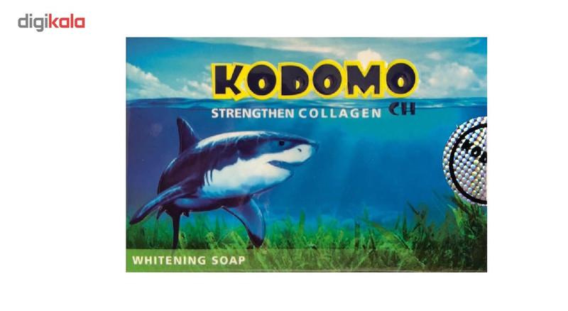 صابون کوسه  کودومو روشن کننده و سفید کننده  مدل WHITENING SOAP