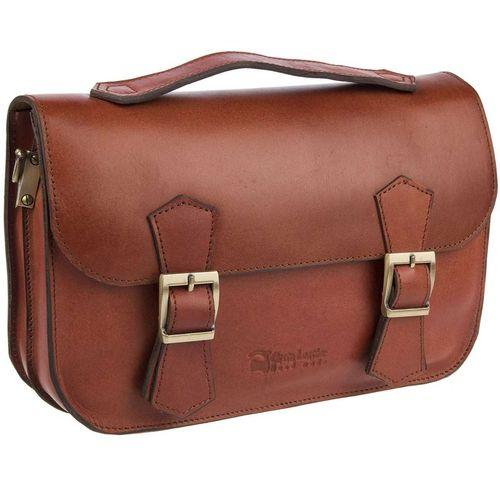 کیف چرم طبیعی گالری چیستا مدل دو سگک کد 89010