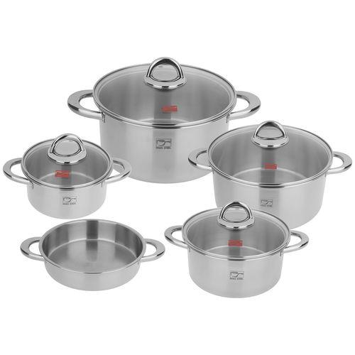 سرویس پخت و پز 9 پارچه پارس استیل کد 09