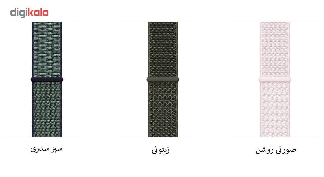 بند طرح اسپورت لوپ مناسب برای اپل واچ 42 میلی متری main 1 2
