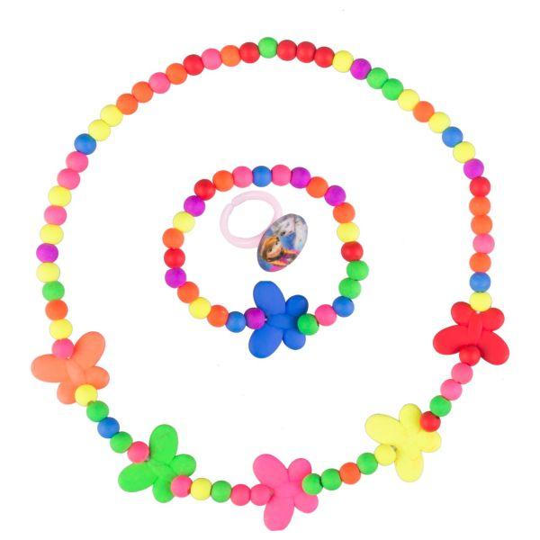 ست گردنبند و دستبند دخترانه ویتالی بیوتی مدل پروانه کدA623