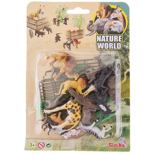 ست باغ وحش سیمبا مدل Nature World کد 1232