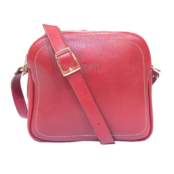 کیف زنانه چرم طبیعی رایا مدل Maneli