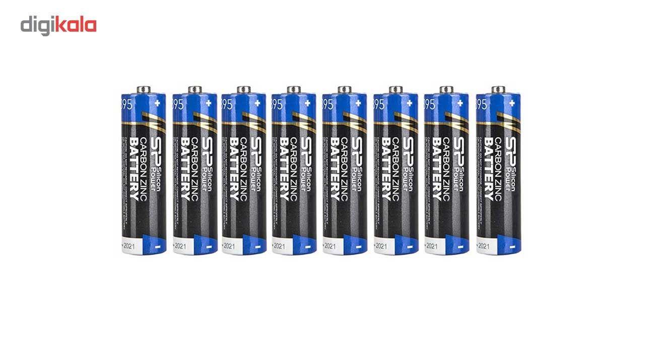 باتری قلمی سیلیکون پاور مدل Carbon Zin بسته 8 عددی main 1 1