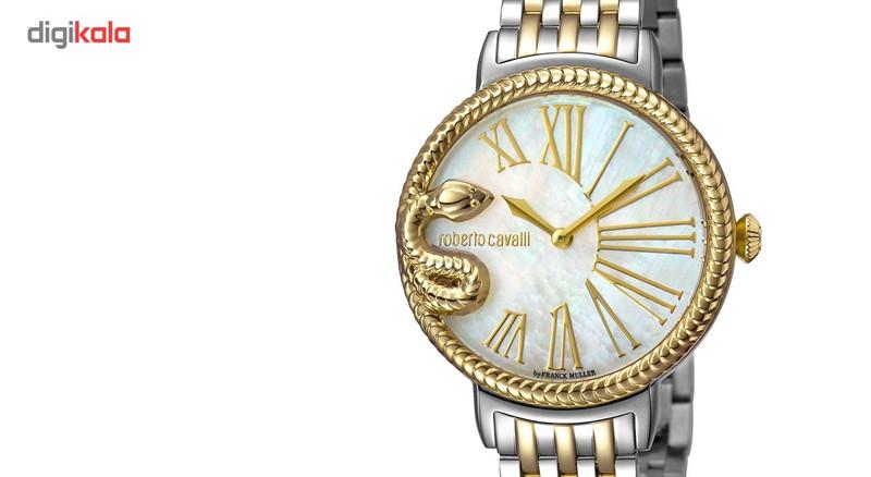 ساعت مچی عقربه ای زنانه روبرتو کاوالی مدل RV1L020M0111
