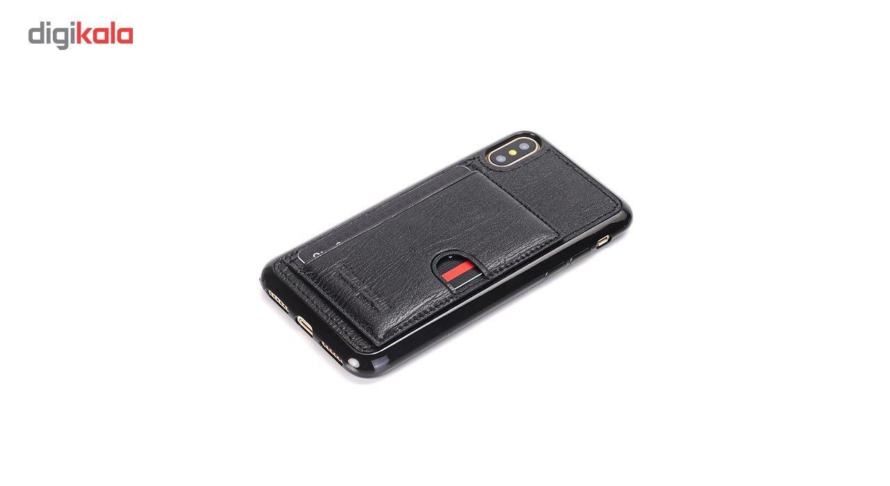 کاور چرمی پیرکاردین مدل PCL-P11 مناسب برای گوشی آیفون X main 1 8