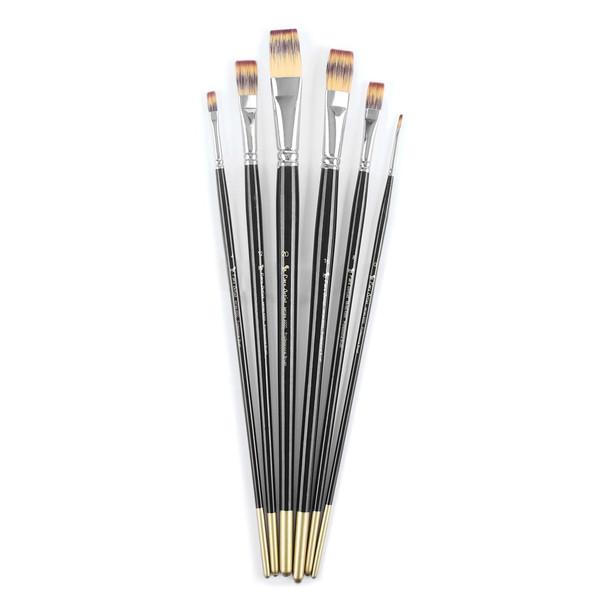 قلم مو پارس آرتیست کد 4000 ست 6 عددی