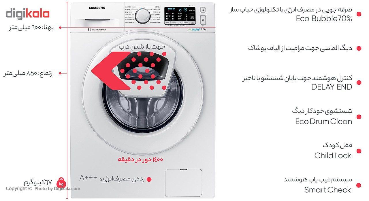 ماشین لباسشویی سامسونگ مدل J1477 ظرفیت 7 کیلوگرم main 1 3