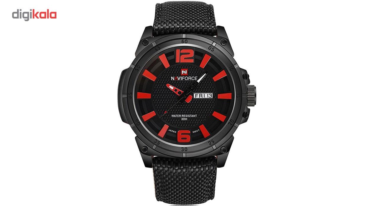 خرید ساعت مچی عقربه ای مردانه نیوی فورس مدلNF9066M/GH