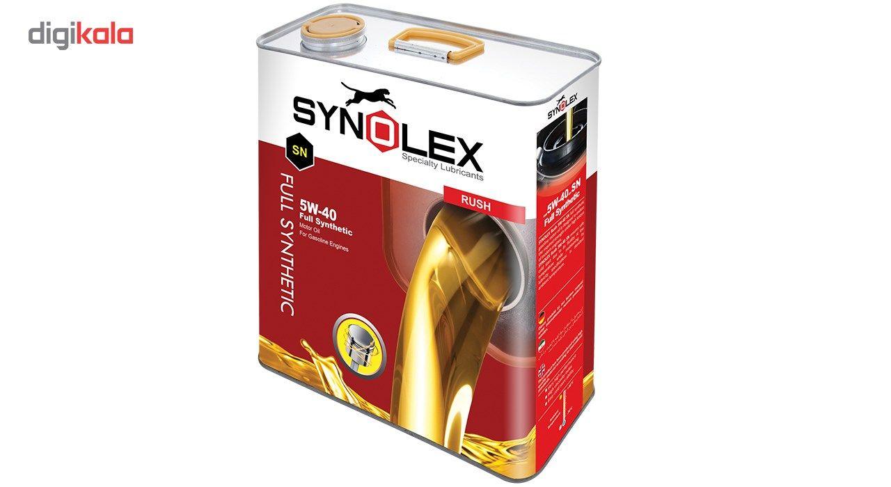 روغن موتور خودرو سینولکس مدل راش 5W-40 SN ظرفیت 5 لیتر main 1 4
