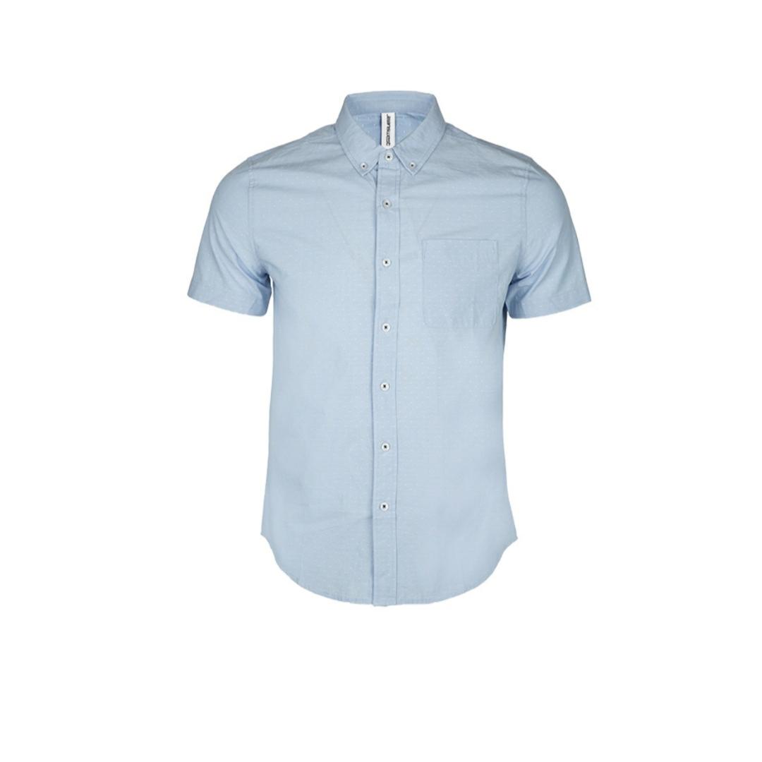 پیراهن آستین کوتاه مردانه جین وست مدل 4578