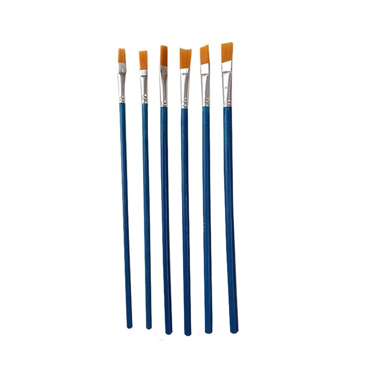 قلم مو تخت کد 01 مجموعه 6 عددی
