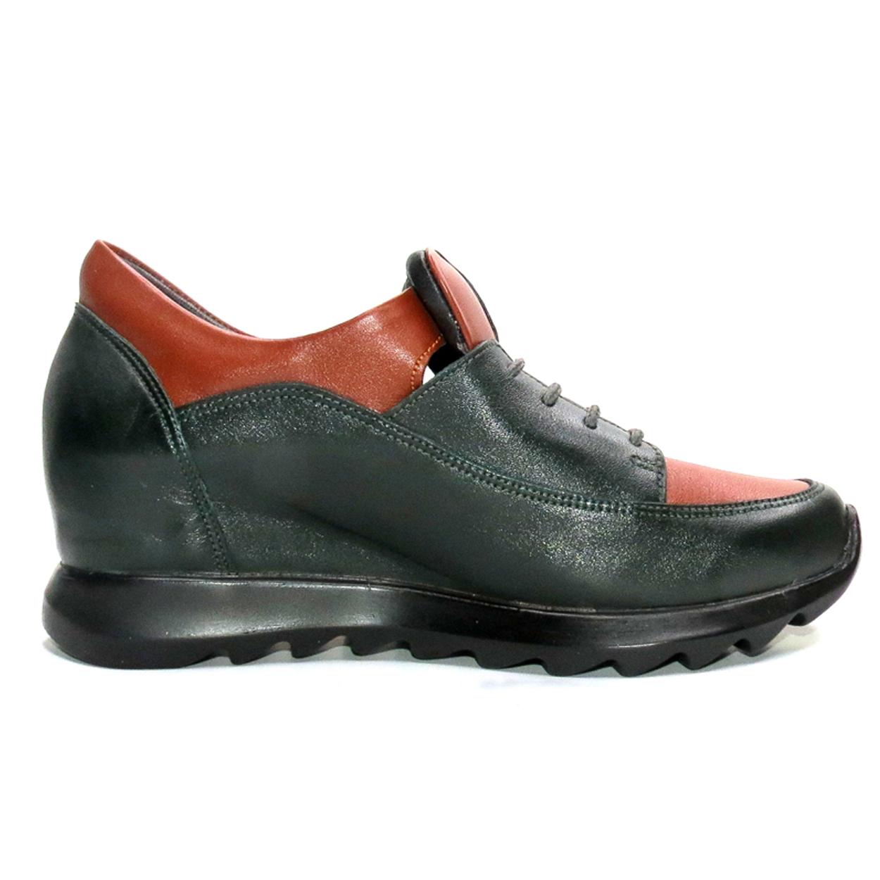 کفش روزمره زنانه آر اند دبلیو مدل 416 رنگ یشمی -  - 3