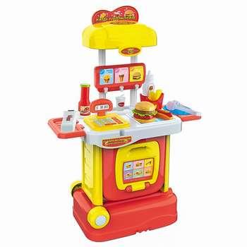 ست اسباب بازی آشپزخانه مدل همبرگر فروشی
