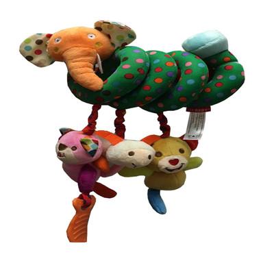 آویز تخت بهار طرح فیل مدل خال خالی