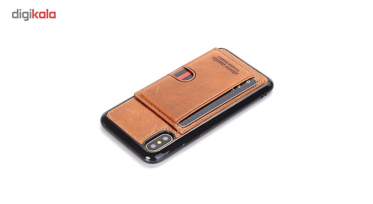 کاور چرمی پیرکاردین مدل PCL-P11 مناسب برای گوشی آیفون X main 1 14