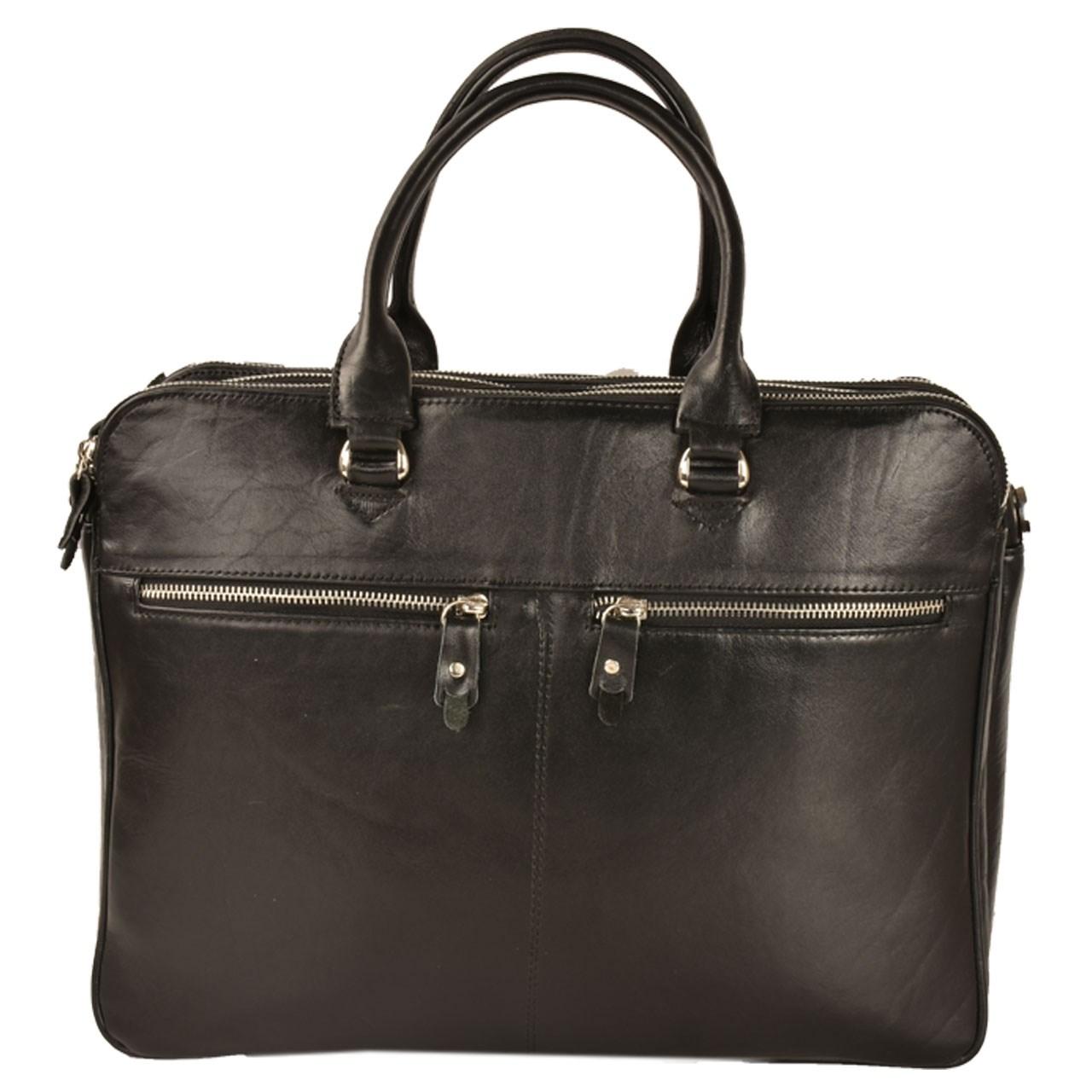 کیف اداری چرم طبیعی کهن چرم مدل L90
