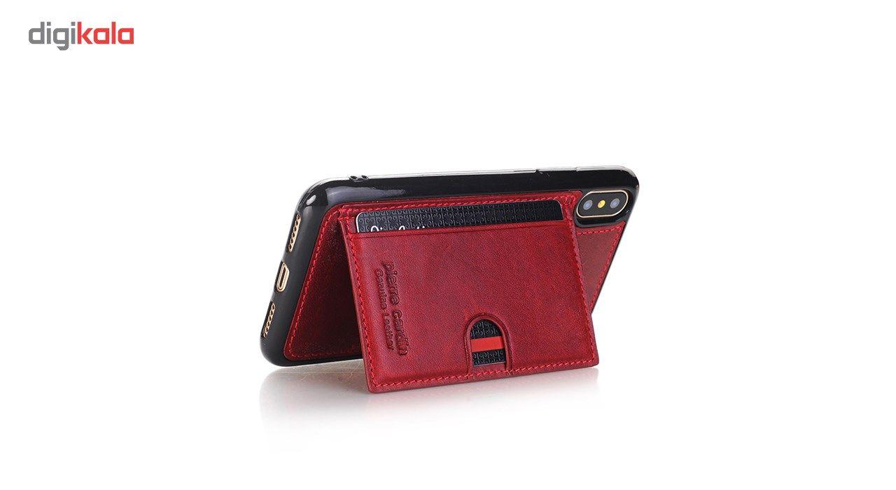 کاور چرمی پیرکاردین مدل PCL-P11 مناسب برای گوشی آیفون X main 1 17