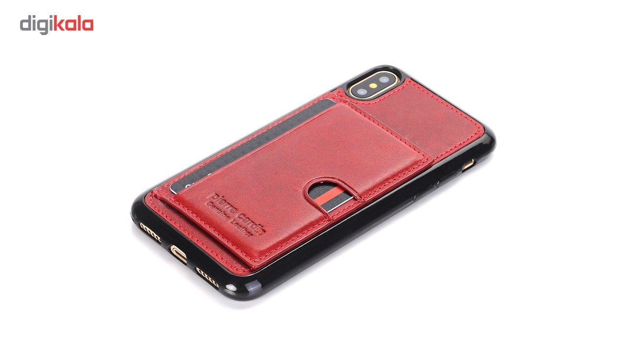 کاور چرمی پیرکاردین مدل PCL-P11 مناسب برای گوشی آیفون X main 1 18