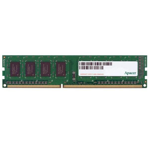 رم کامپیوتر اپیسر UNB PC3-12800 CL11 UDIMM DDR3 1600MHz ظرفیت 8 گیگابایت