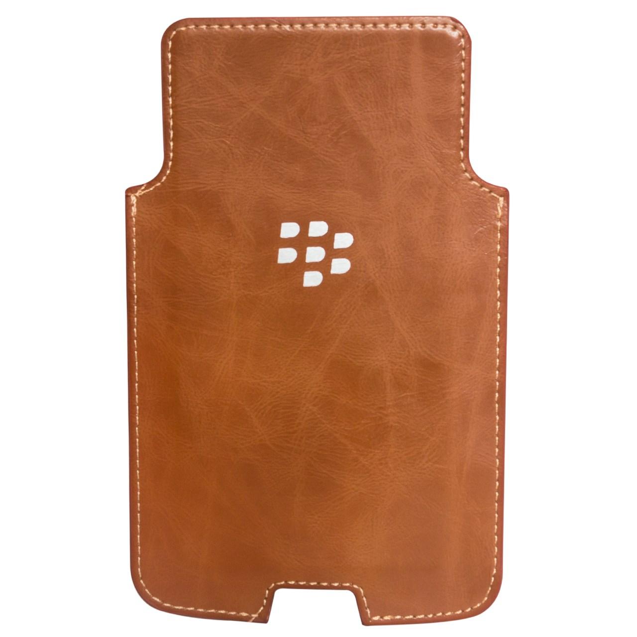 کیف چرمی بلک بری مدل Holster Leather مناسب برای گوشی موبایل بلک بری DTEK50
