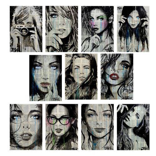 تابلو 11 تکه گالری هنری پیکاسو طرح مدرن شماره 3