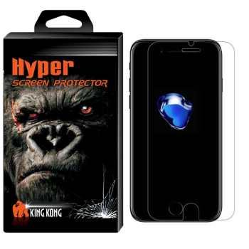 محافظ صفحه نمایش شیشه ای کینگ کونگ مدل Hyper Protector مناسب برای گوشی اپل آیفون 7Plus/8Plus