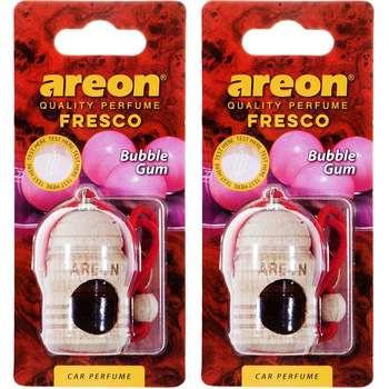 خوشبو کننده ماشین آرئون مدل فرسکو با رایحه آدامس بادکنکی - بسته دو عددی
